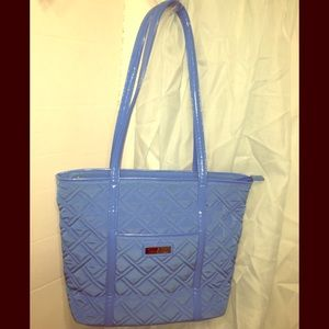 Vera Bradley's Blue Quilted Tote